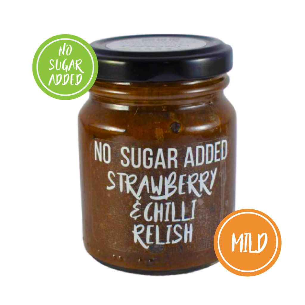 Strawberry & Chilli Relish (No Sugar Added)