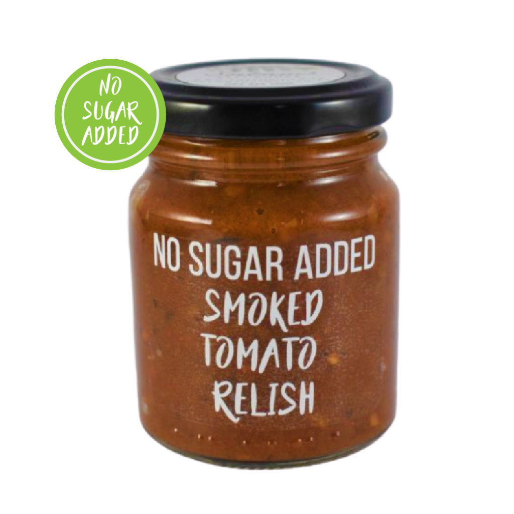 Smoked Tomato Relish (No Added Sugar)